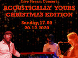 Acoustically Yours Christmas  Live Stream Concert – Ticket